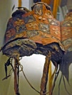 The construction of a prehistoric saddle